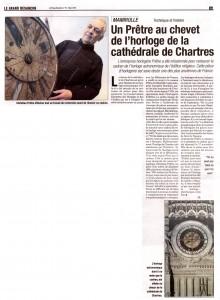 Horloge de la cathédrale de Chartres