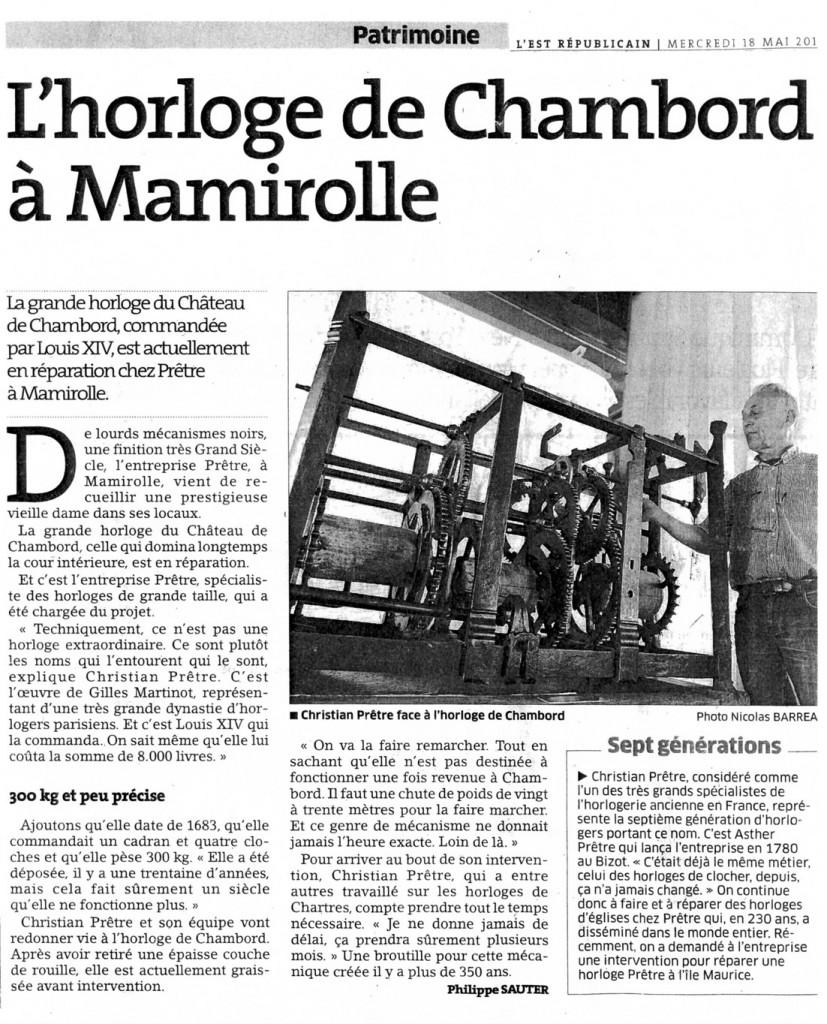 Chambord Mamirolle