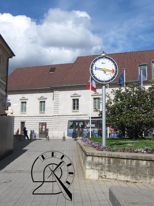 Horloge Besançon PRÊTRE Silberstein