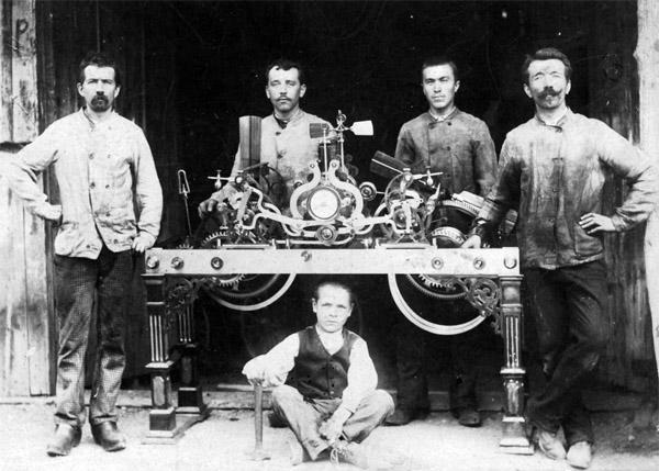 Horloge exposition de Besançon 1893