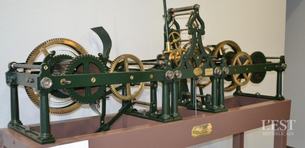 Restauration horloge mécanique Pouillez-les-Vignes