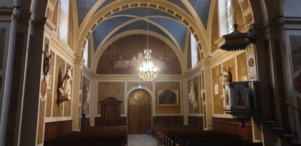 Intérieur église Cubry